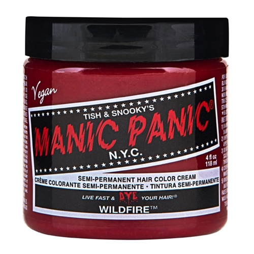 Manic Panic - Wildfire, Haartönung